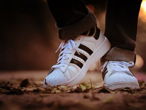 recycled polyester in adidas shoes